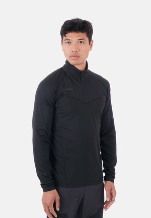 Fleece trui - black