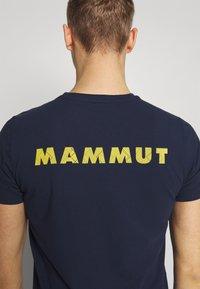 Mammut - LOGO MEN - Triko spotiskem - marine - 5