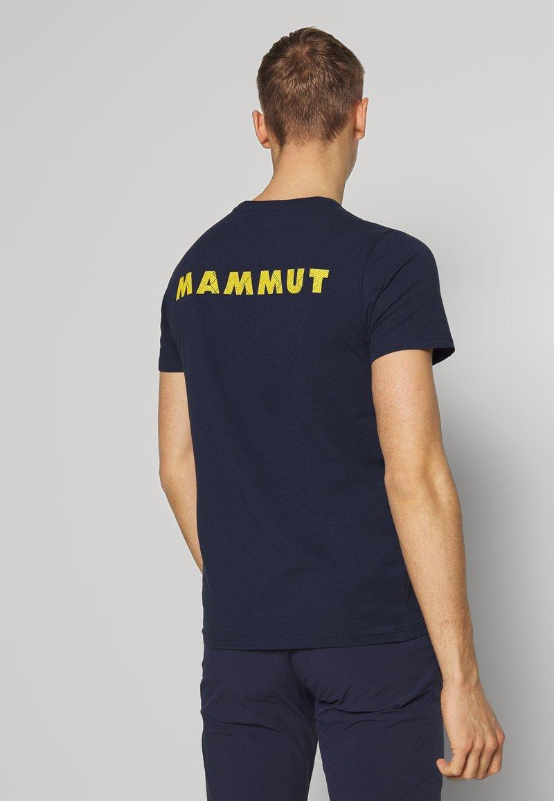 Mammut - LOGO MEN - Triko spotiskem - marine