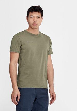SEILE  - T-shirt z nadrukiem - grey