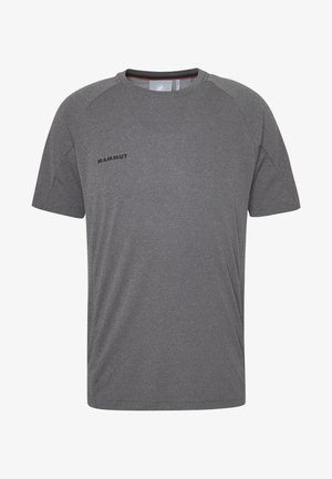 AEGILITY  - Print T-shirt - phantom melange