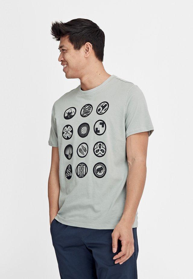 MASSONE - T-Shirt print - grey