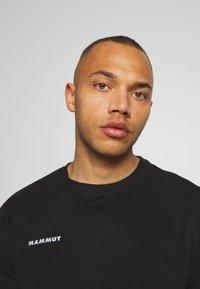 Mammut - MASSONE - Print T-shirt - black - 3