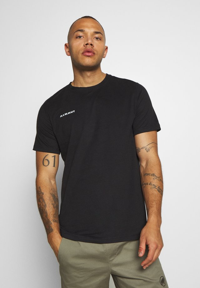 MASSONE - T-shirt imprimé - black