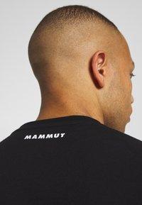 Mammut - NATIONS MEN - Triko spotiskem - black - 3