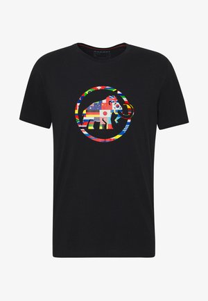 NATIONS MEN - T-shirt imprimé - black