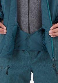 Mammut - Snowboard jacket - wing teal - 9