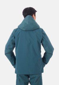 Mammut - Snowboard jacket - wing teal - 1