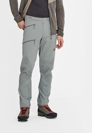 COURMAYEUR PANTS MEN - Outdoor trousers - grey