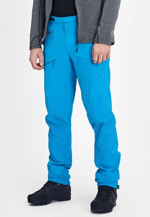 COURMAYEUR PANTS MEN - Długie spodnie trekkingowe - blue