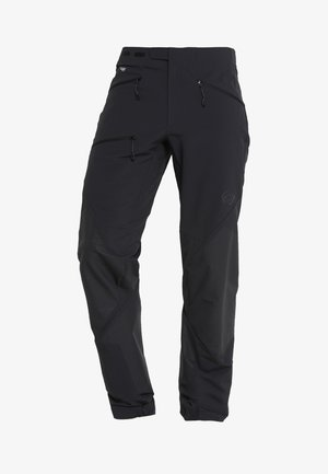 COURMAYEUR PANTS MEN - Długie spodnie trekkingowe - black