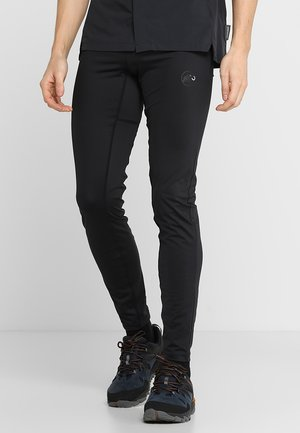 SERTIG - Spodnie materiałowe - black