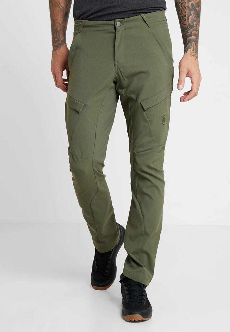Mammut - ZINAL PANTS MEN - Outdoorové kalhoty - iguana