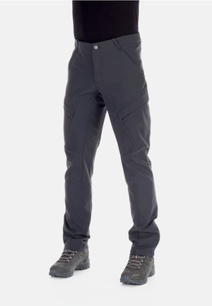 ZINAL PANTS MEN - Długie spodnie trekkingowe - black
