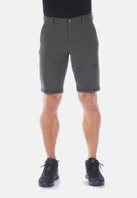 Mammut - RUNBOLD ZIP OFF PANTS MEN - Spodnie materiałowe - dark grey - 5