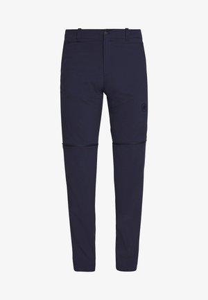 RUNBOLD ZIP OFF PANTS MEN - Pantalon classique - marine