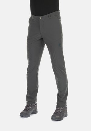 Stoffhose - dark grey