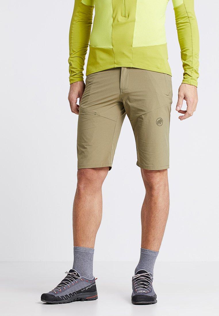 Mammut - RUNBOLD SHORTS MEN - Outdoor Shorts - olive