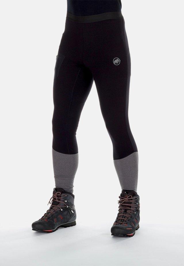 Legging - black-black melange