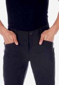 Mammut - MACUN - Pantalon classique - black - 2