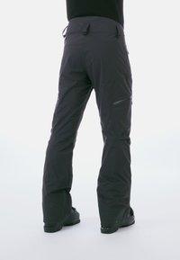 Mammut - STONEY HS PANTS - Snow pants - black - 1