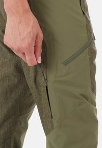 Mammut - Snow pants - green/dark green - 3