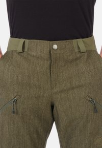 Mammut - Snow pants - green/dark green - 7
