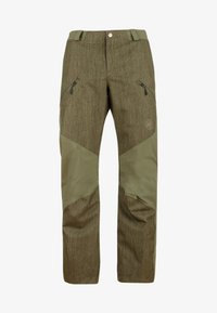Mammut - Snow pants - green/dark green - 8