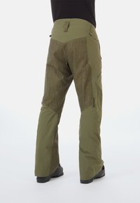 Mammut - Snow pants - green/dark green - 1