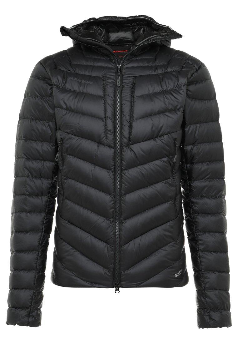 Mammut - BROAD PEAK IN HOODED - Down jacket - black/phantom
