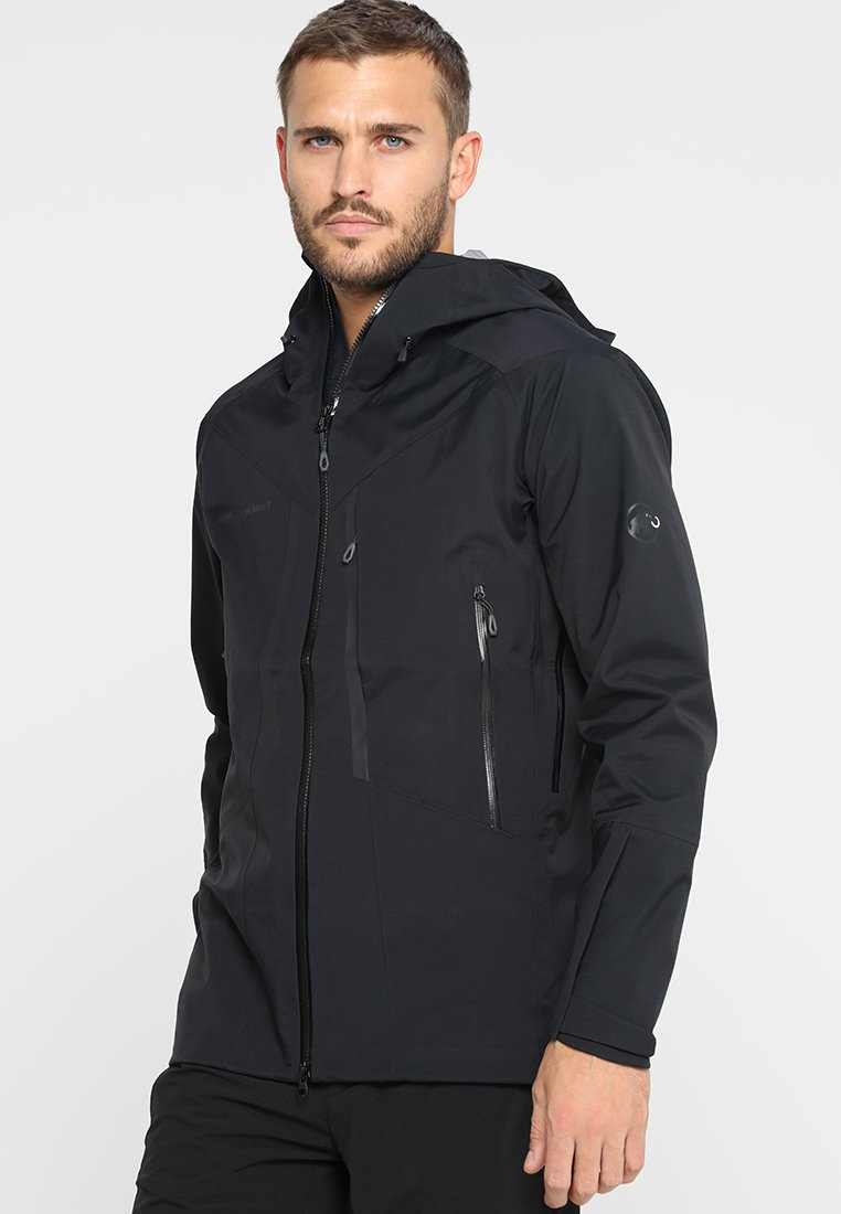 Mammut - MASAO HOODED JACKET MEN - Hardshelljacke - black