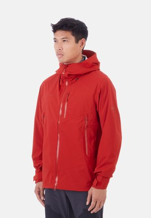 KENTO HOODED JACKET - Waterproof jacket - red