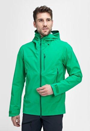 KENTO - Hardshell jacket - light emerald