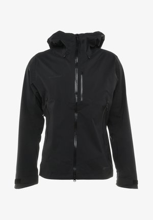 KENTO HOODED JACKET - Regenjas - black