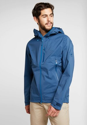 KENTO HOODED JACKET - Impermeabile - wing teal
