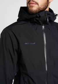 Mammut - CONVEY TOUR  - Hardshell jacket - black - 6