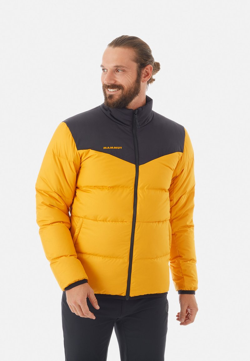 Mammut - WHITEHORN IN JACKET MEN - Kurtka puchowa - gold/black