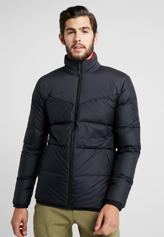 WHITEHORN IN JACKET MEN - Gewatteerde jas - black/red