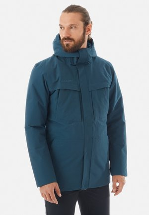CHAMUERA THERMO HOODED MEN - Parka - blue