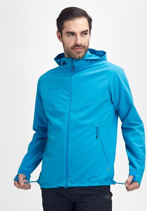 MACUN - Soft shell jacket - blue