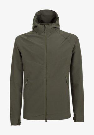MACUN - Soft shell jacket - green/dark green