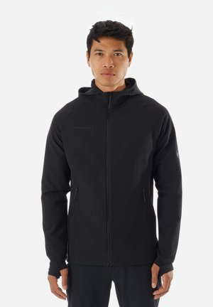 MACUN - Soft shell jacket - black