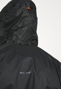 Mammut - KENTO - Hardshell-jakke - black - 4