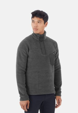 Fleece jumper - black melange
