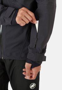 Mammut - STONEY - Ski jacket - black - 8