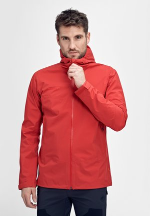 Waterproof jacket - dark spicy