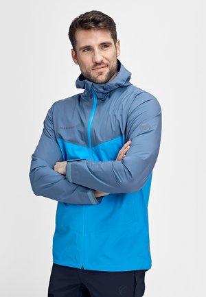 Waterproof jacket - gentian/dark horizon