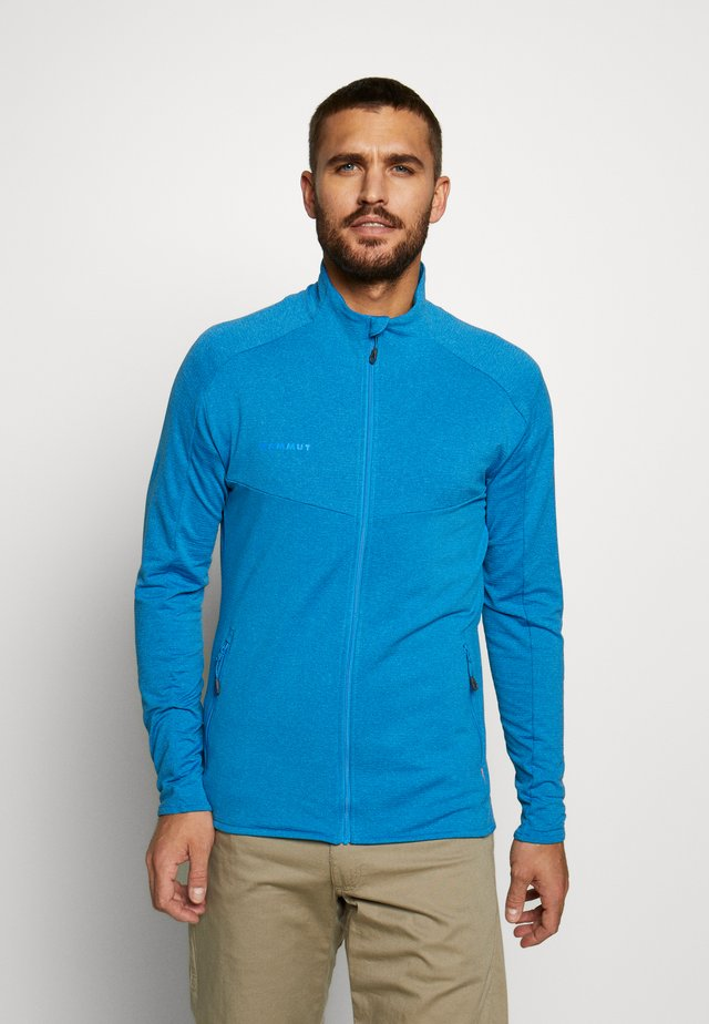 NAIR JACKET MEN - veste en sweat zippée - gentian melange