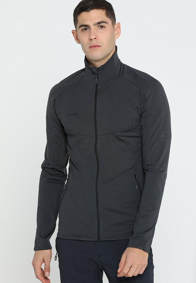 NAIR JACKET MEN - Bluza rozpinana - black