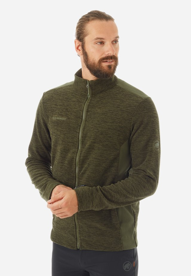 YADKIN - Fleece jacket - iguana melange